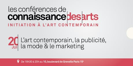 L'art contemporain, la publicité, la mode & le marketing billets