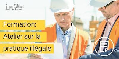 Formation - Atelier sur la pratique illégale - Mauricie - Centre-du-Québec