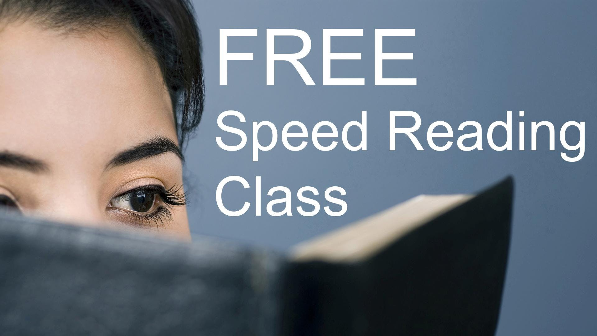 Free Speed Reading Class - San Jose