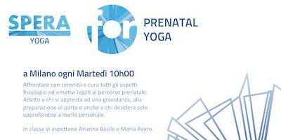 Prenatal Yoga - Prova per Mamma Felici