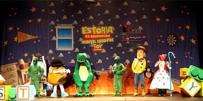 Desconto! Amigo Estou Aqui – o incrível mundo de Toy Story, no Teatro Bibi Ferreira