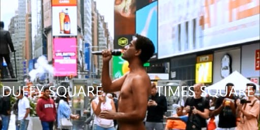NAKED CONCERT in TIMES SQUARE