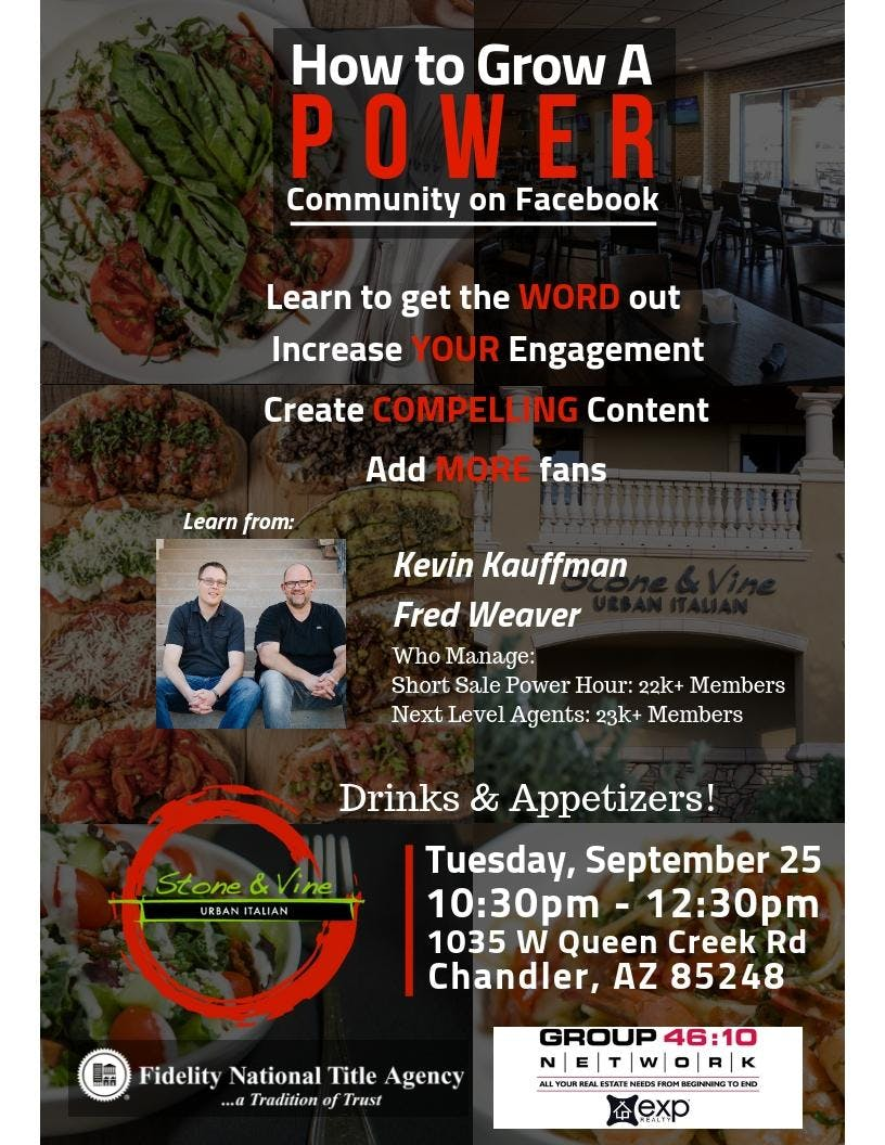 How to Grow A Power Community on Facebook!