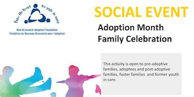 Adoption Month Family Celebration