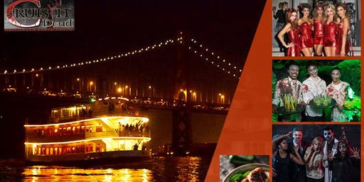 crusin dead halloween party cruise october 19th 830pm pier 40 san francisco