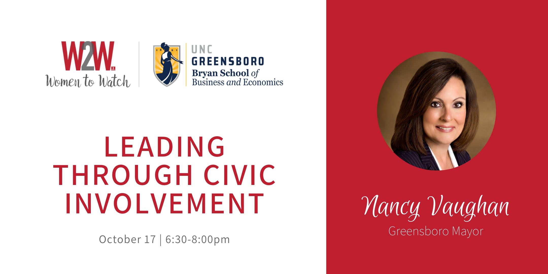 Women-to-Watch: Greensboro Mayor Nancy Vaugha