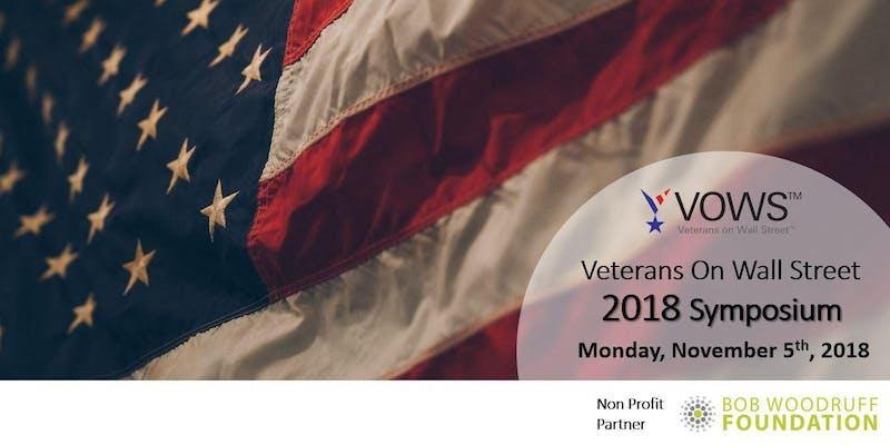 Veterans On Wall Street 2018 Symposium 5 November @ Fordham University