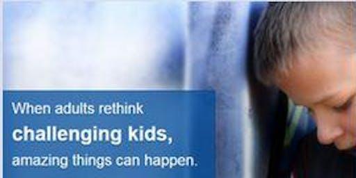 思考:儿童-1级协作解决问题®培训:1月14日至16日,二千零一十九