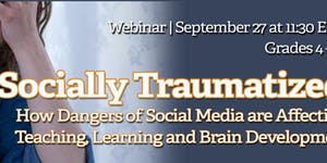 Socially Traumatized: How Dangers of Social Media are...