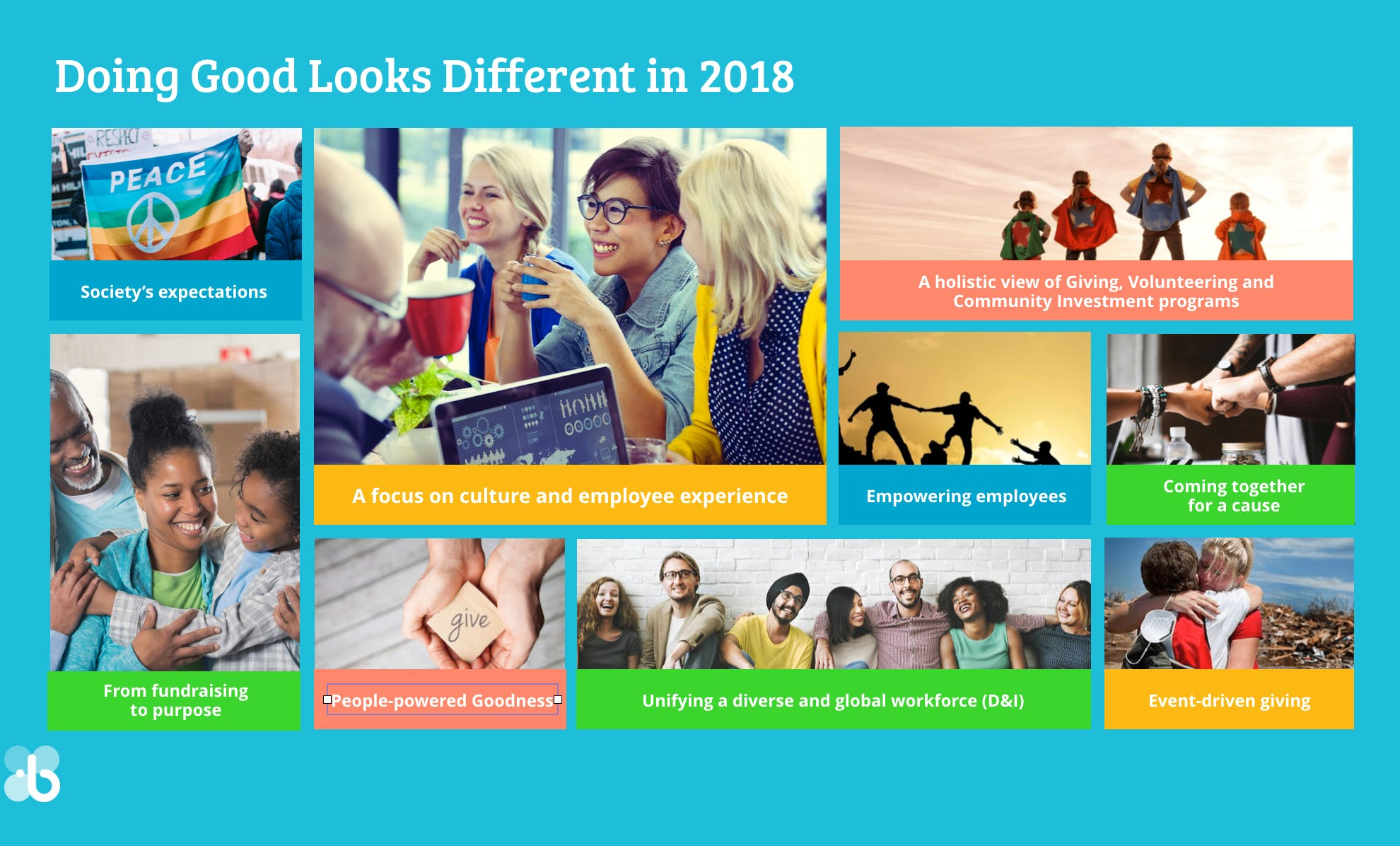 How Doing Good Looks Different in 2018
