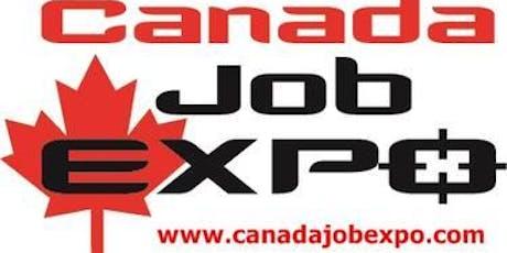 CANADA JOB EXPO tickets