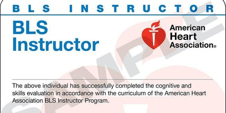 American Heart Association CPR and BLS Instructor Class - Jacksonville tickets