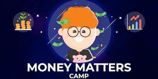 Money Matters Camp (9-14 years) | Mon-Fri, 9:00 AM-3:00 PM