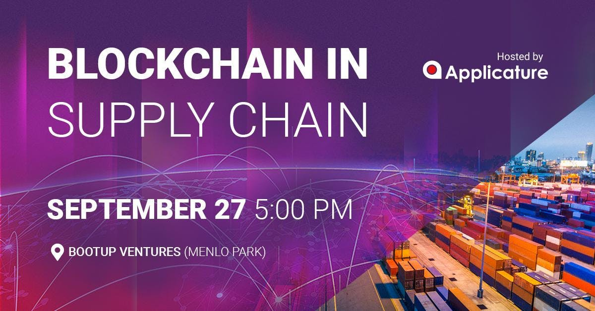 Blockchain in Supply Chain Panel Discussion b