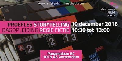 Proefles Storytelling - Dagopleiding Regie Fictie