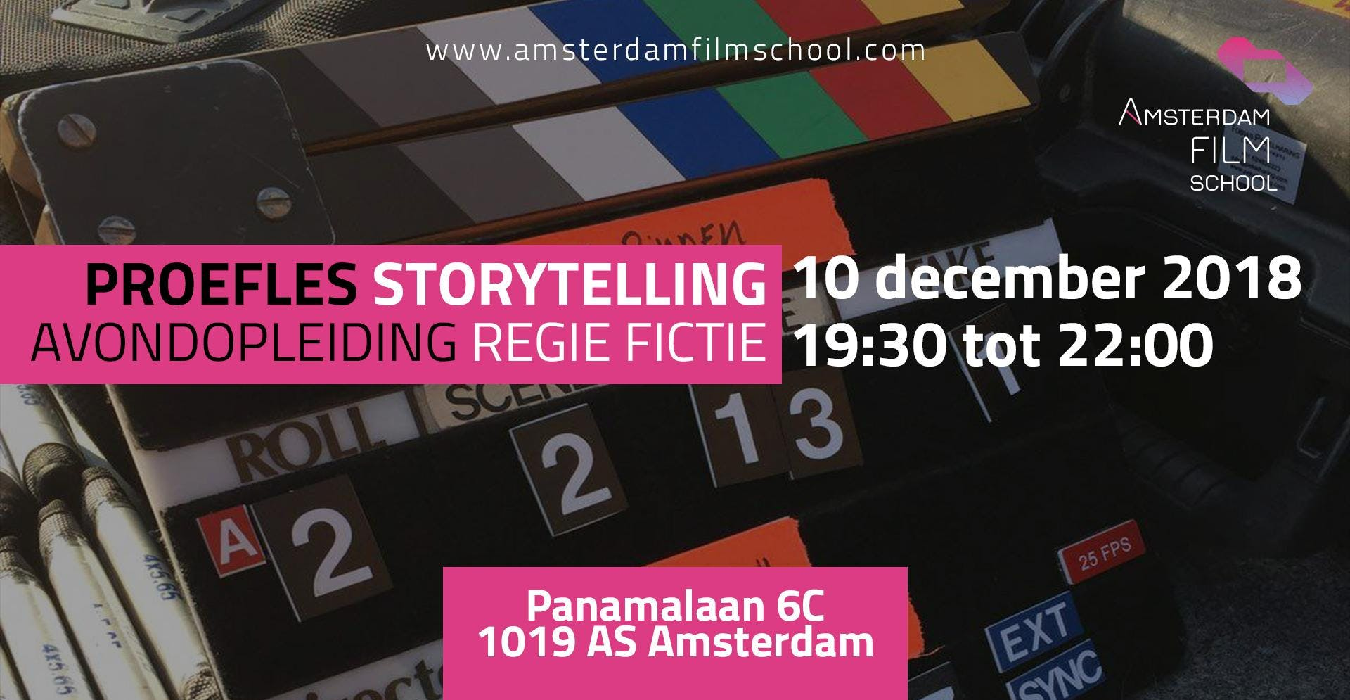 Proefles Storytelling - Avondopleiding Regie