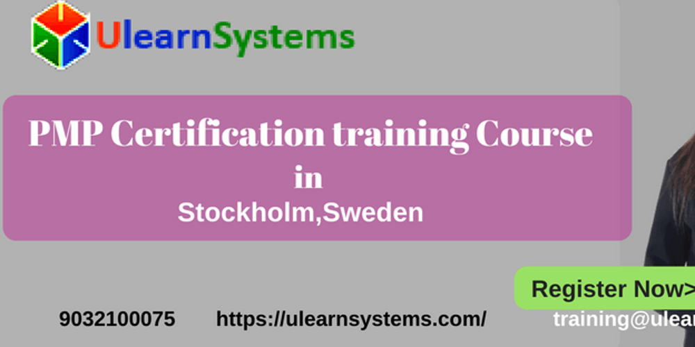 Pmp Certification Training Course In Stockholmsweden Ulearn