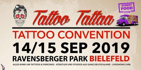 "Tattoo Convention Bielefeld ""TattooTattaa"" Tickets"