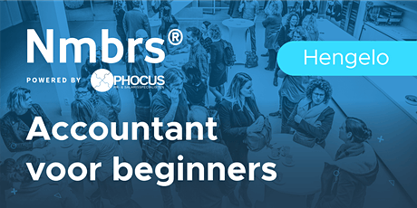 Hengelo | Nmbrs® Accountant voor beginners tickets