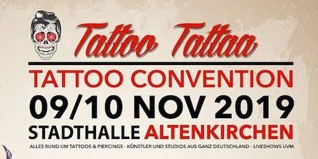 """Tattoo Conventin Altenkirchen """"TattooTattaa"""" tickets"""