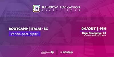 BOOTCAMP ITAJAÍ/SC RAINBOW HACKATHON BRASIL 2018