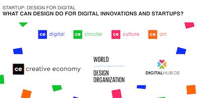Design 4 Digital: What can design do for digital innovations and startups?