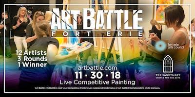 Art Battle Fort Erie - November 30, 2018