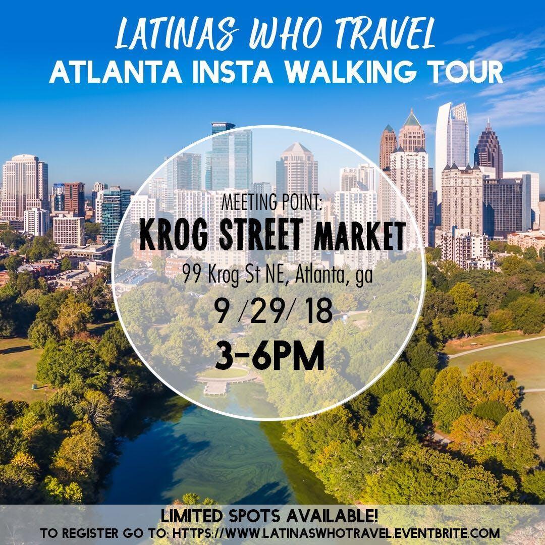 Latinas Who Travel Atlanta Insta Walking Tour