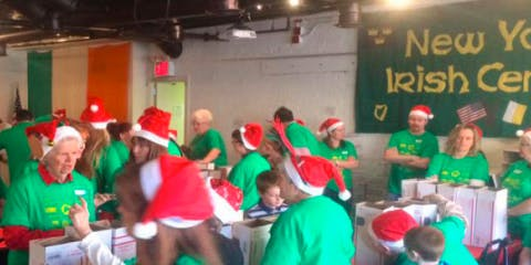 Become an Elf at the Christmas Shoebox Factory