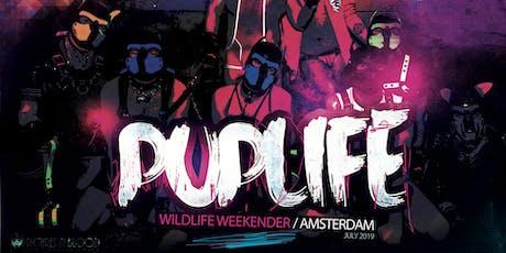 July 2019 - Amsterdam Wild Weekender tickets