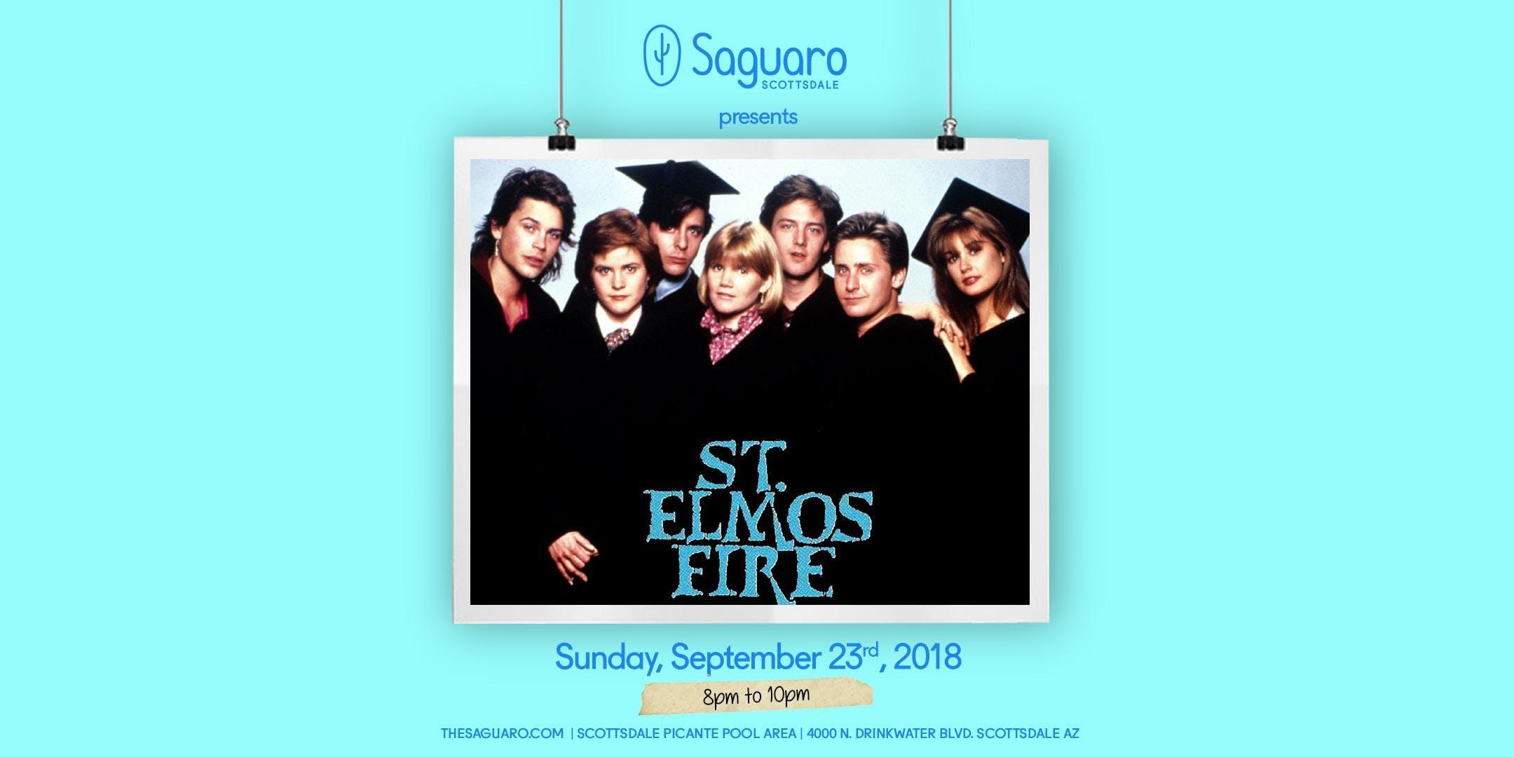 The Saguaro Scottsdale screening of 'St. Elmo's Fire'