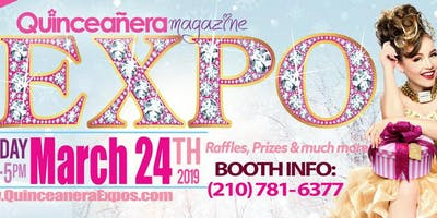 Dallas Quinceanera Expo March 24th, 2019 at the Irving Convention Center