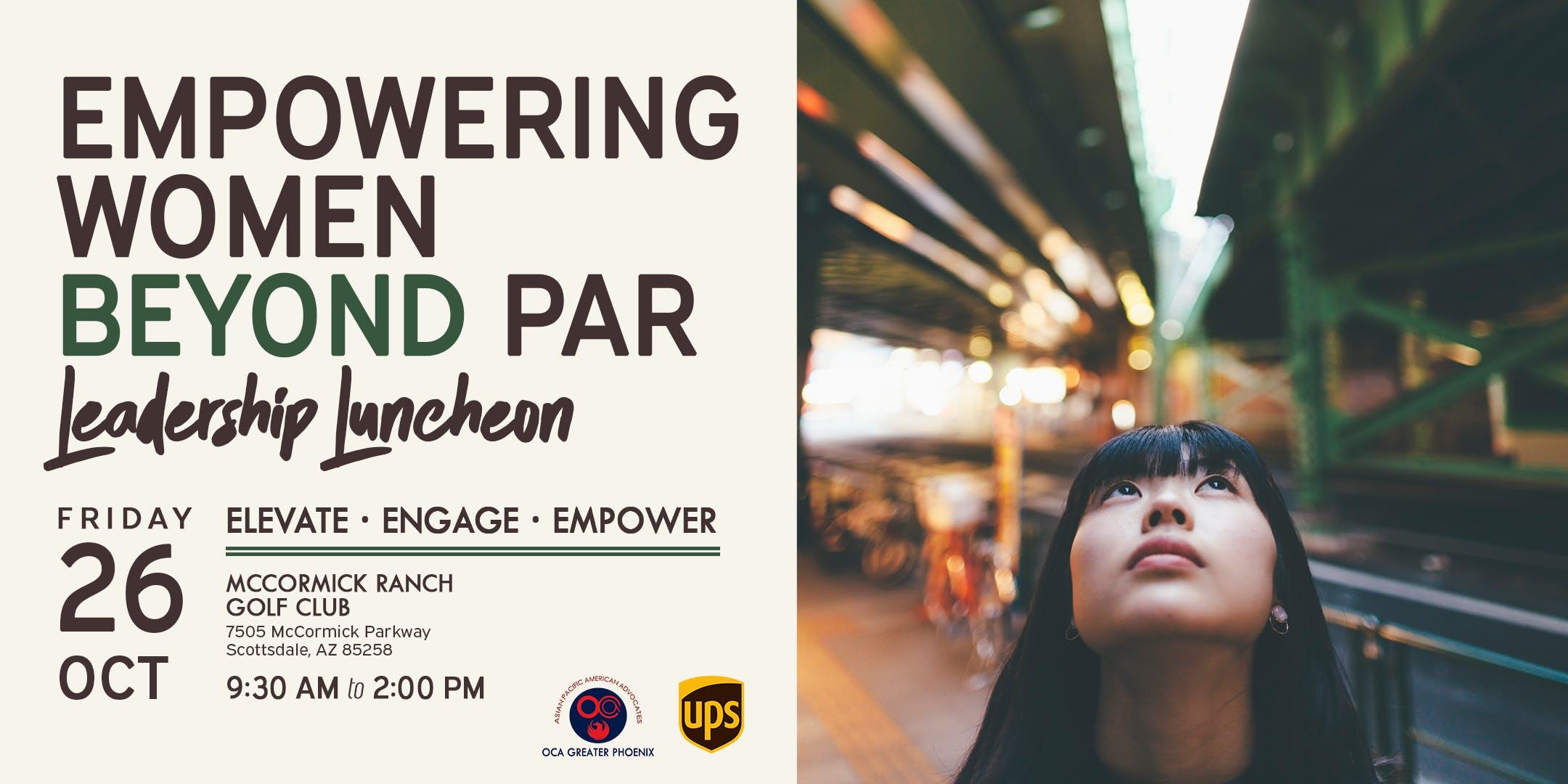 Empowering Women Beyond Par - Leadership Luncheon