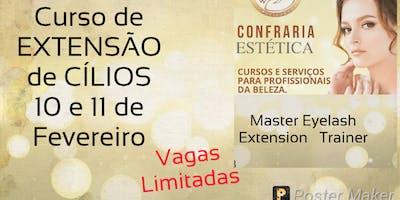 CURSO MASTER EXTENSÃO  DE CÍLIOS  TRAINER