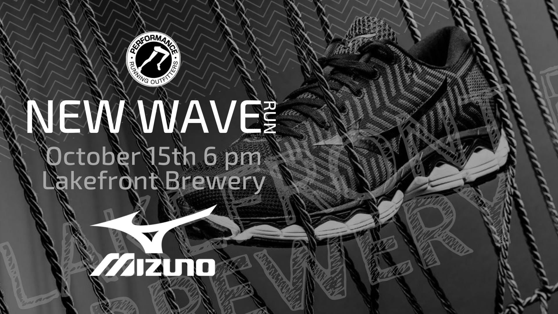 New Wave Brewery Run with Mizuno - 10/15