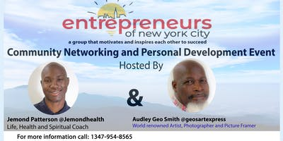 Entrepreneurs of N.Y.C - Community Networking & Personal Development Event
