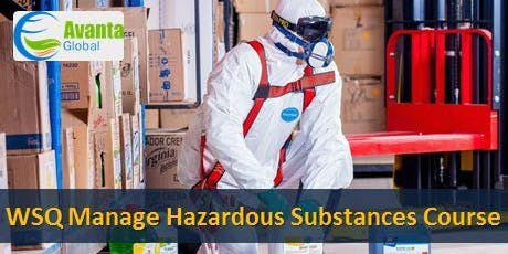 WSQ Manage Hazardous Substances Course tickets