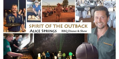 Alice Springs - Outback BBQ Dinner and Show - Spirit of the Outback