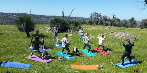 Yoga Trekking 7AM (with Vegan Tea, Picnic & Swim)