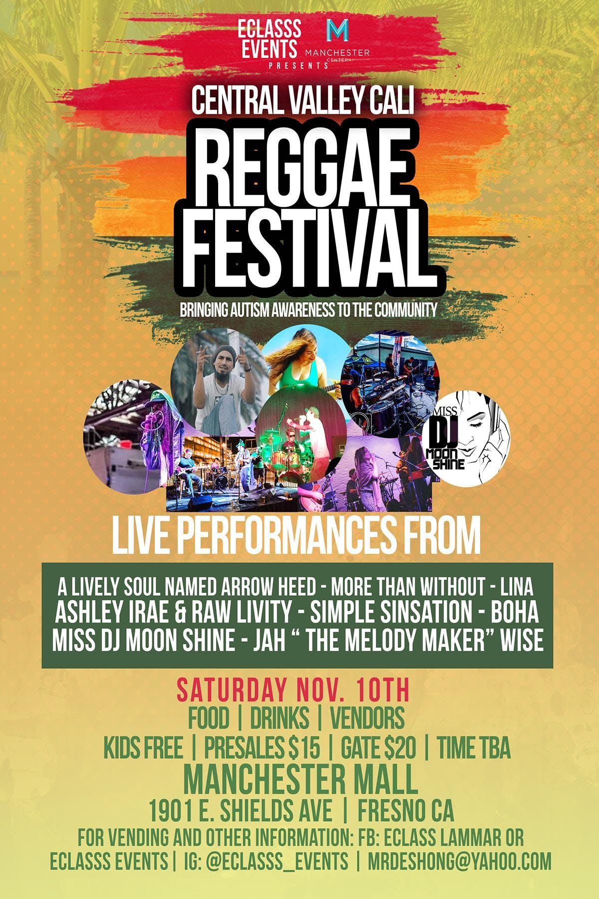 Central Valley Cali Reggae Festival bringing