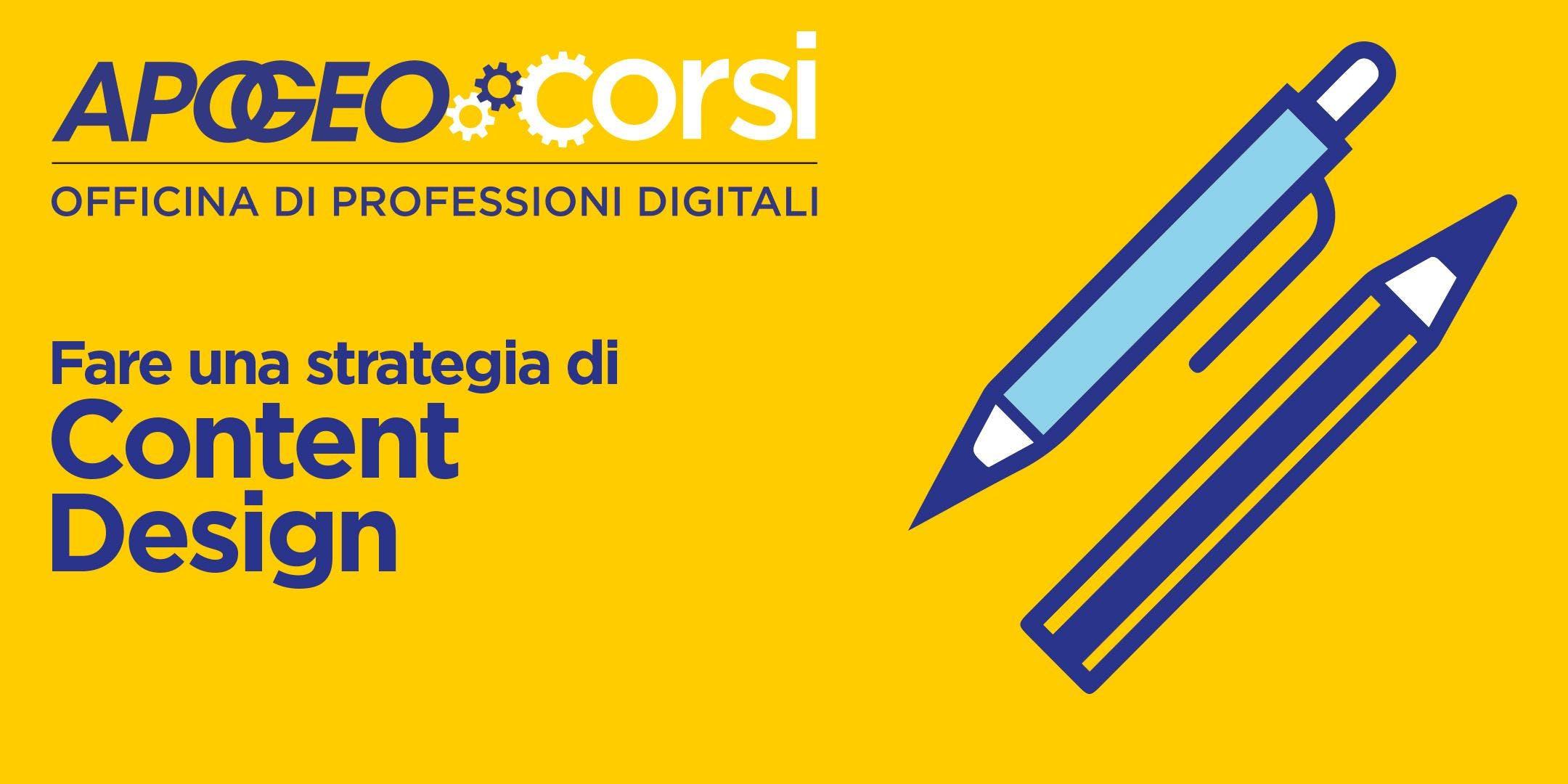 Fare una strategia di Content Design con Nico