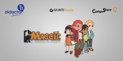 Alla scoperta di Maggie – Il tesoro di Seshat un'educational app Soroptimist per la scuola primaria