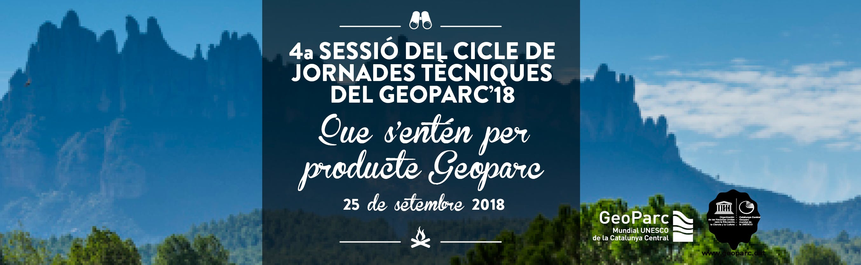 B3-G4 - Cicle de jornades tècniques del Geopa
