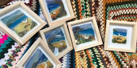 Needle-felted Seascapes with Maxine tickets