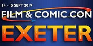 Film & Comic Con Exeter 2019