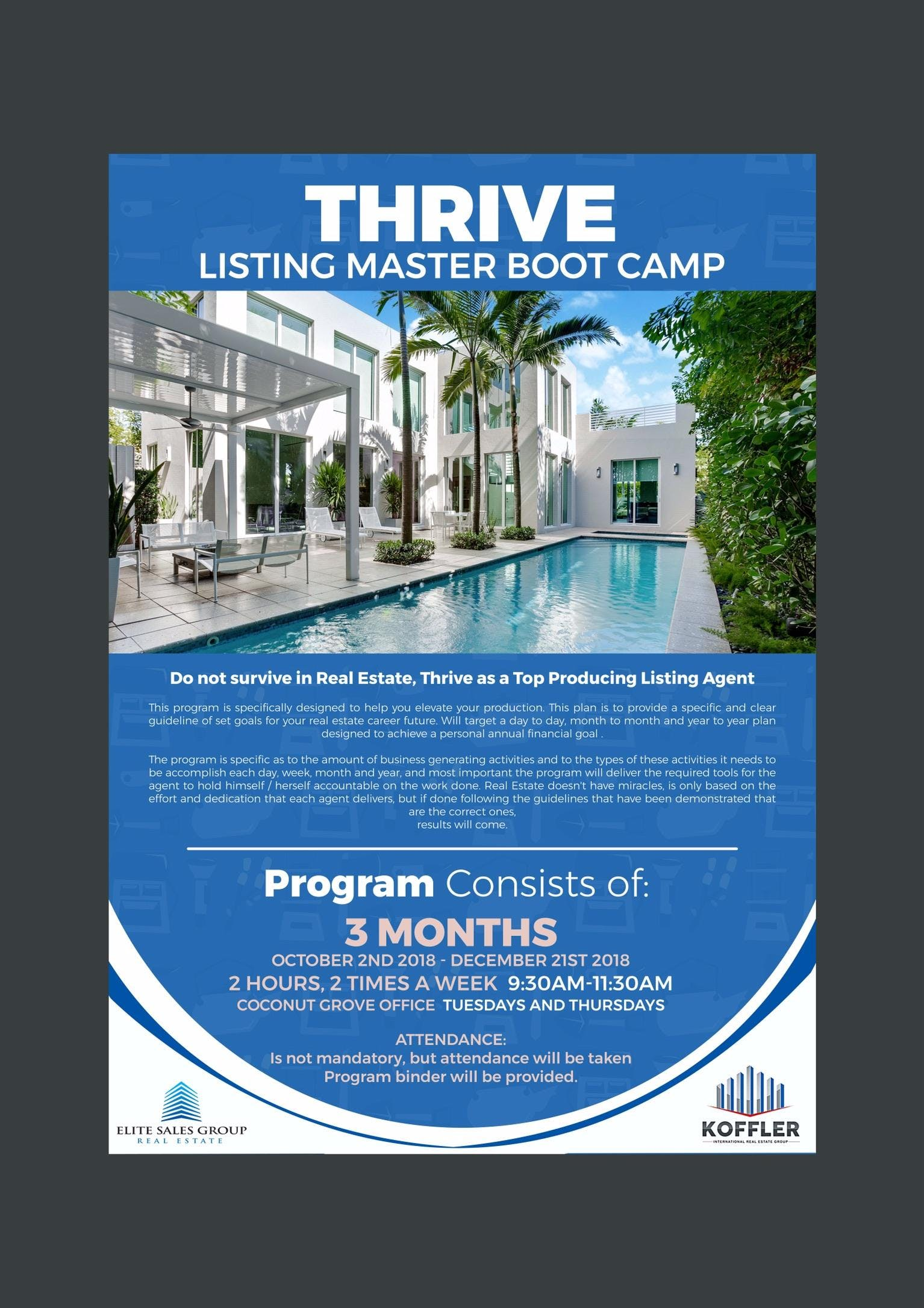 Thive- become a listing master
