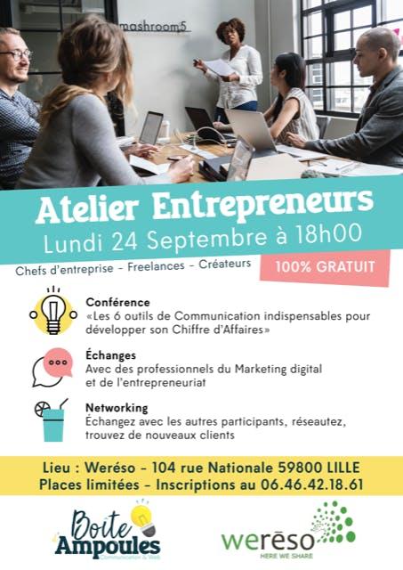 Atelier Entrepreneurs / Afterwork