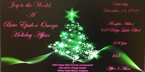 joy to the world a beta epsilon omega holiday affair and new years eve party