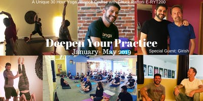 Yoga: Deepen Your Practice 30 Hour Yoga Alliance Course - 5 Saturdays Jan-May 19