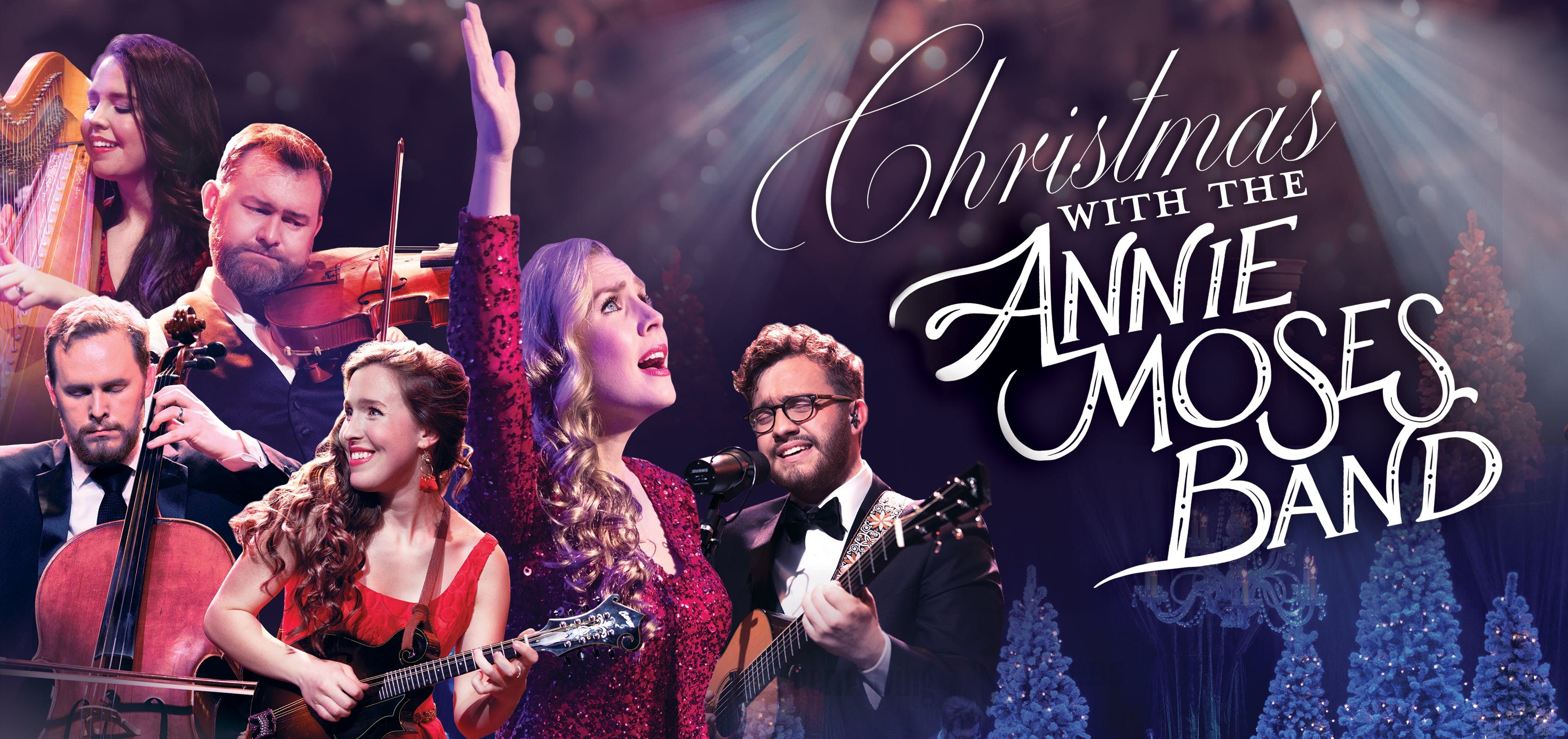 Annie Moses Band Christmas Concert - 9 DEC 2018
